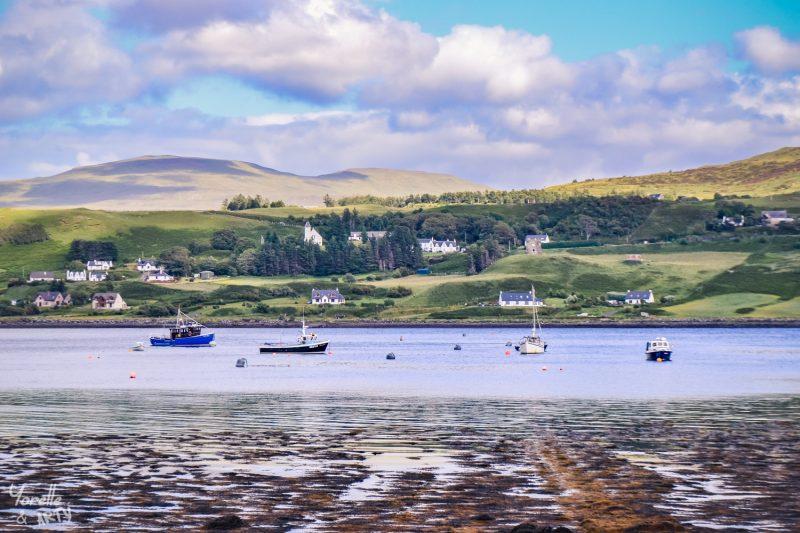 Port sur l'île de Skye