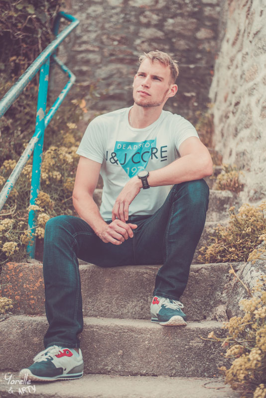 Shooting photo homme - Finistère