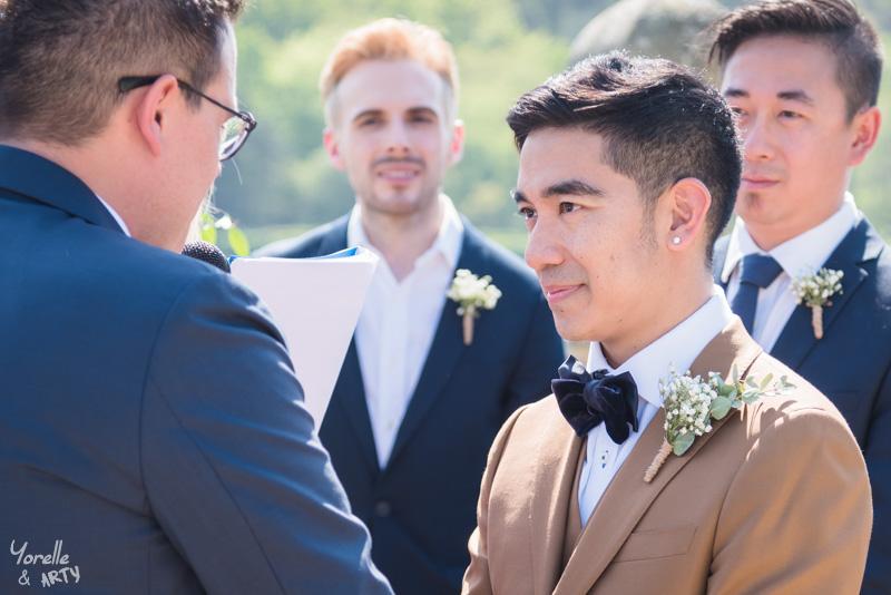 Photographe mariage - Cérémonie laïque