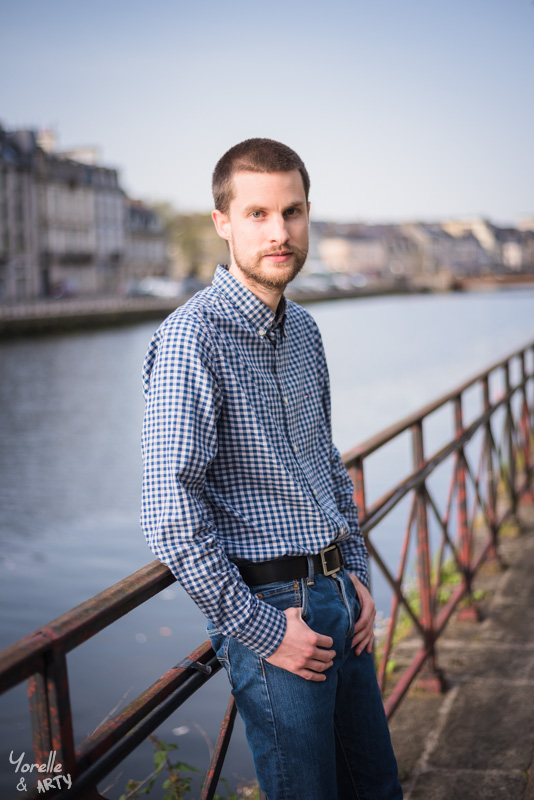 shooting photo homme quimper